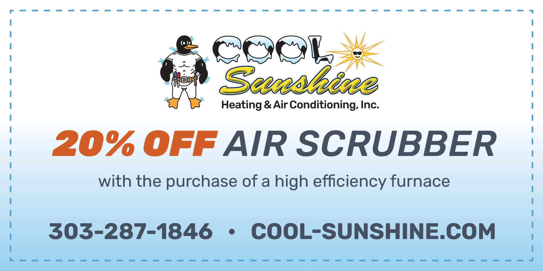 Cool Sunshine Air Scrubber special