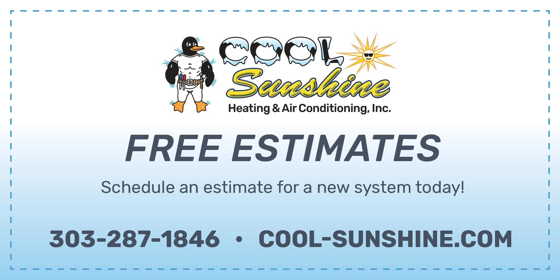 Free estimates coupon.