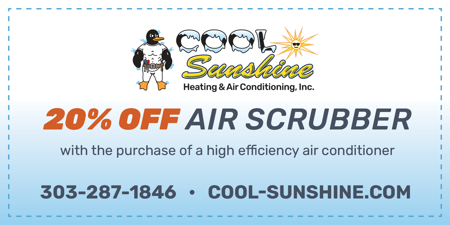 Cool Sunshine Special Offer